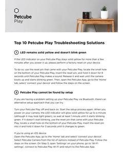 Petcube Play FAQ