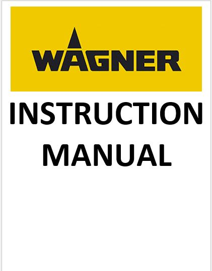 Wagner Control Pro 130 Paint Sprayer Manual