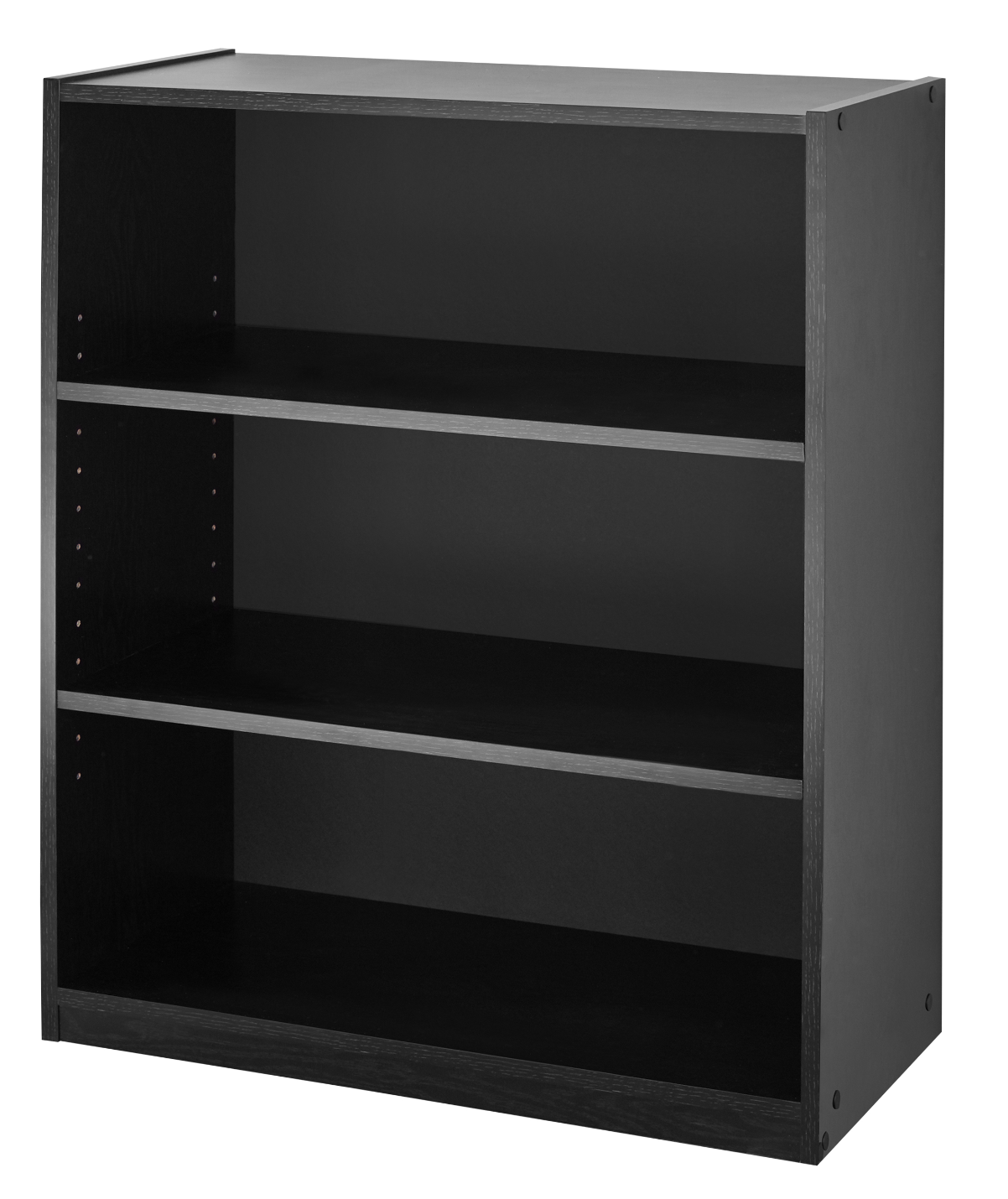 Mainstays 31 3 Shelf Bookcase Black Walmart Com Walmart Com