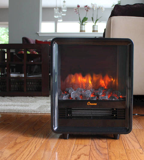 Buy Crane Fireplace Heater - Orange at Walmart.com